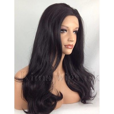 Nicole Black Dark Brown Lace Front Wig Kw86